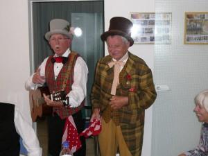"""Die Bänkelsänger des """"Mundart-Teams"""" (Sept. 2009)"""